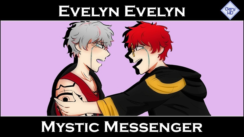 Mystic Messenger Evelyn Evelyn Animatic