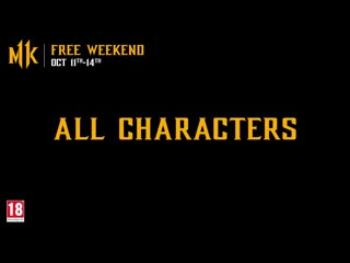 Mortal kombat 11 | free weekend trailer | ps4