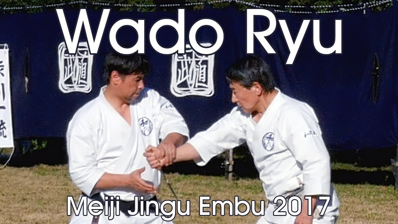 Wado Ryu Jujutsu Kempo Karatejutsu Demonstration - Meiji Jingu Reisai 2017
