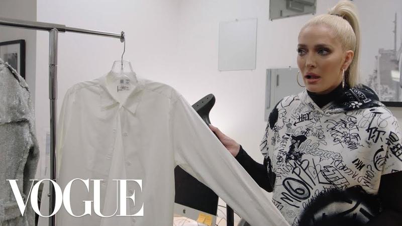 RHOBHs Erika Jayne Works 24 Hours at Vogue