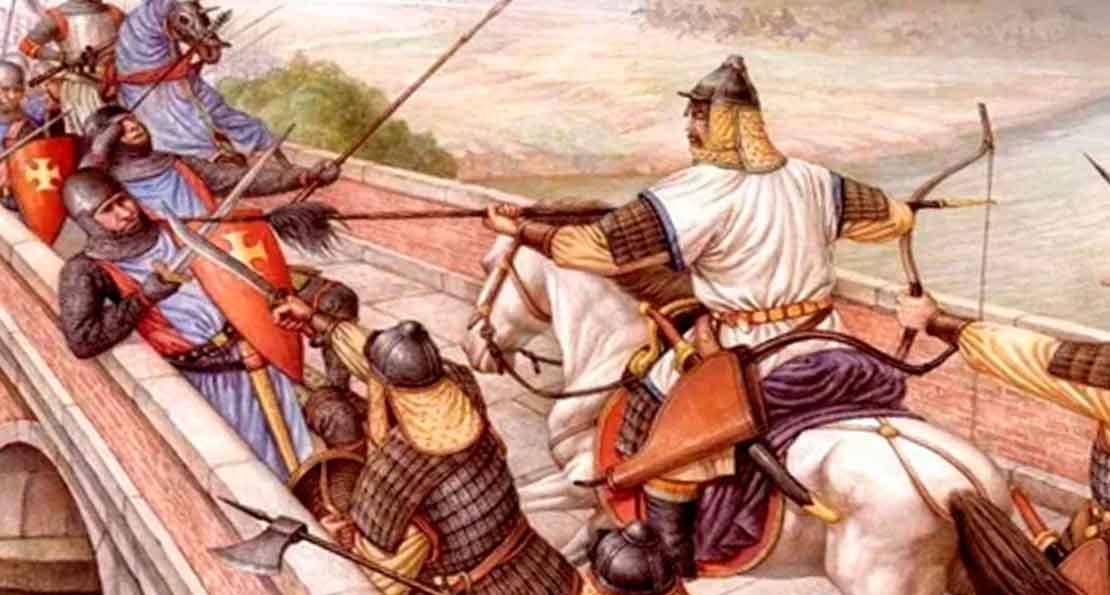 Монголы против венгров