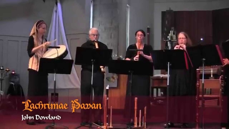 Recorder Ensemble Lachrimae Pavan by John Dowland