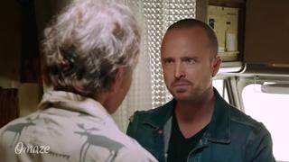 Аарон Пол обнаружил Брайана Крэнстона в фургоне из «Breaking Bad» (Во все тяжкие)