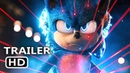 SONIC THE HEDGEHOG Official Trailer 2 (2019) Jim Carrey Movie HD