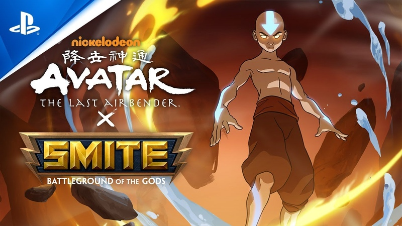 Smite SMITE x Avatar: The Last Airbender Battle Pass Reveal PS4