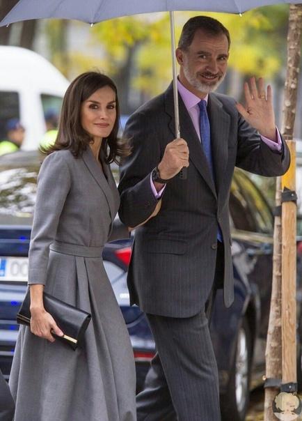 Идеальная пара: король Филипп VI и королева Летиция на церемонии в Мадриде В Мадриде прошло мероприятие против бытового и гендерного насилия. Церемония состоялась в Судебном генеральном совете