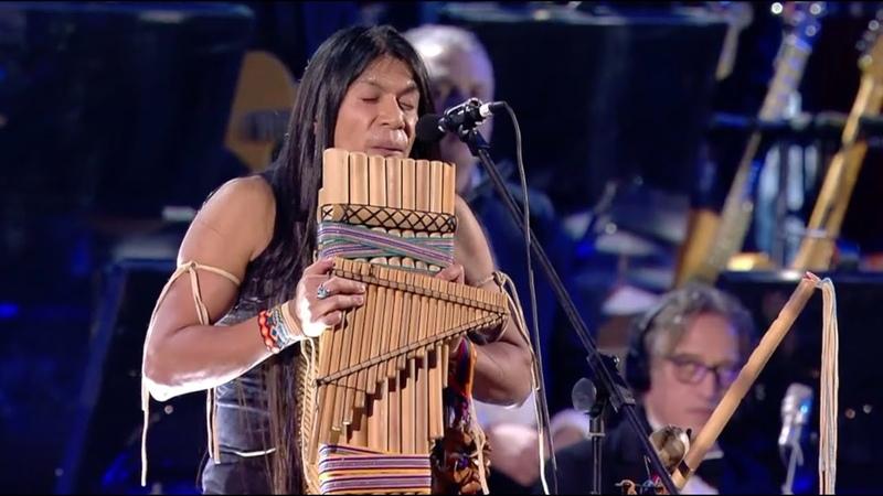 Leo Rojas live with Orchestra at Concerto di Natale 2019 - Official El Condor Pasa
