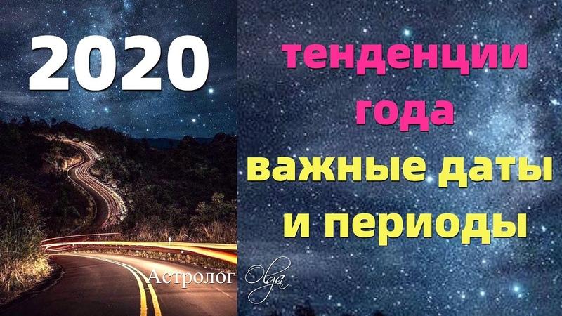 2020 год ГОД КАЧЕСТВА И НЕТОРОПЛИВОСТИ ОСНОВНЫЕ ДАТЫ И ПЕРИОДЫ Астролог Olga