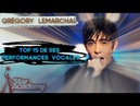 Grégory Lemarchal TOP 15 de ses performances vocales à la Star Academy