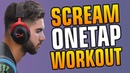 CS:GO - ScreaM ONETAP Workout / SCREAM AIM TRAINING on Fast Aim / Reflex Deathmatch