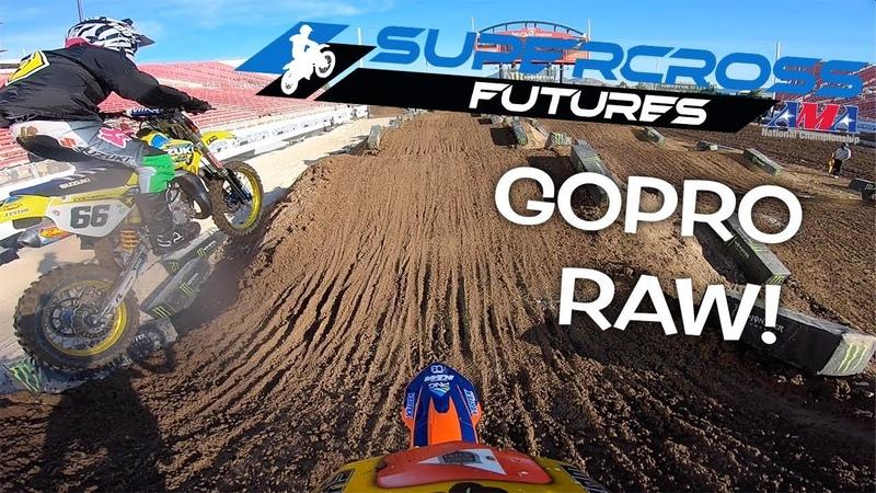 Dangerboy Dominates 85cc Supercross Race On board Gopro Hero 7 Raw