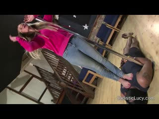 Sadistic Lucy - Extreme Head and Chest S... femdom mistress