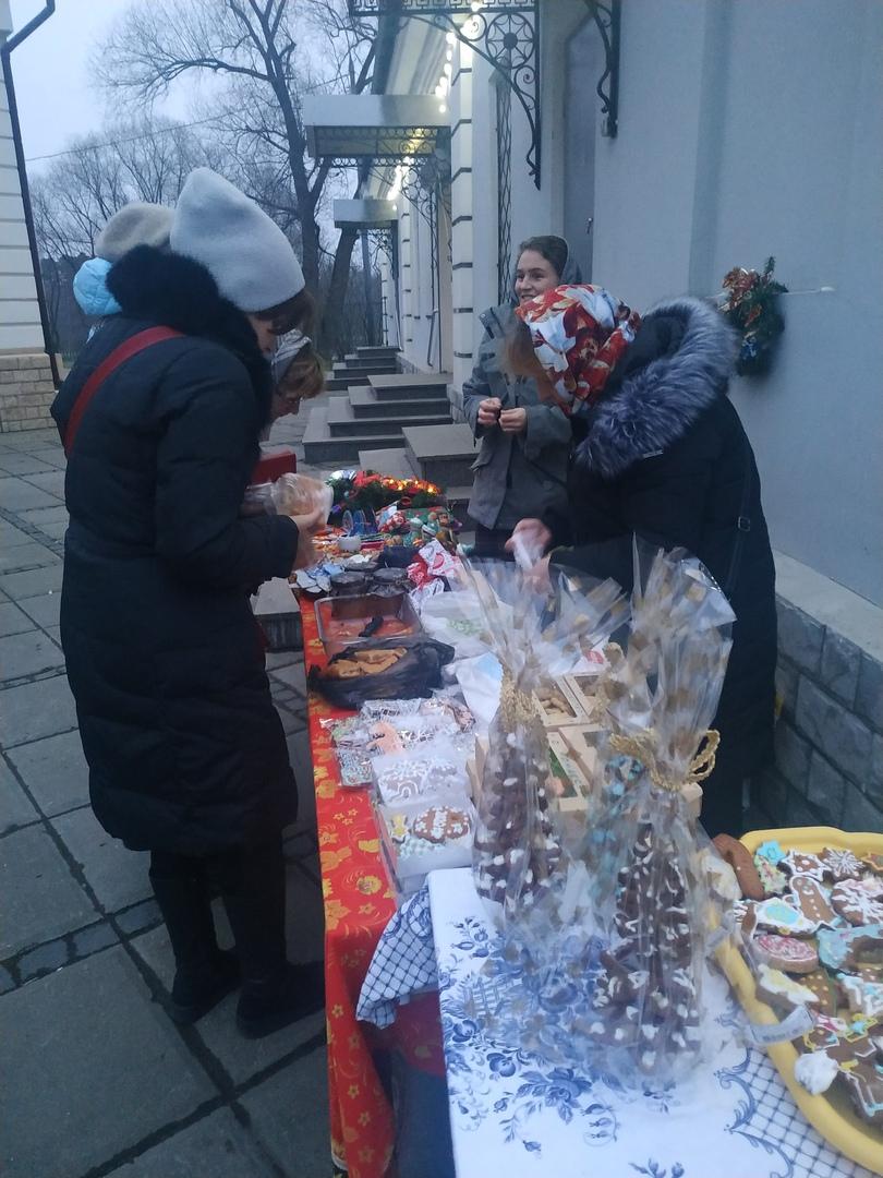 Рождественская ярмарка Воскресной школы