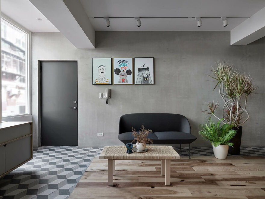 Ji Apartment, Taipei / KC Design Studio