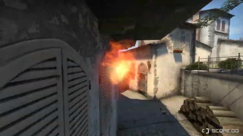 Default Molotovs 38 Inferno Banana to T pit CT