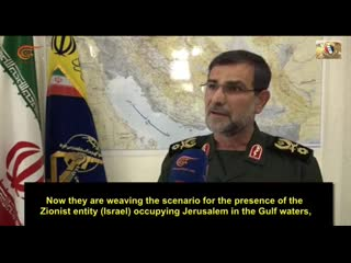 Iran's IRGC US and UK have destabilised the Persian Gulf