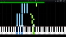 Imagine Dragons - Radioactive Synthesia Piano MIDI davidstonenyc1