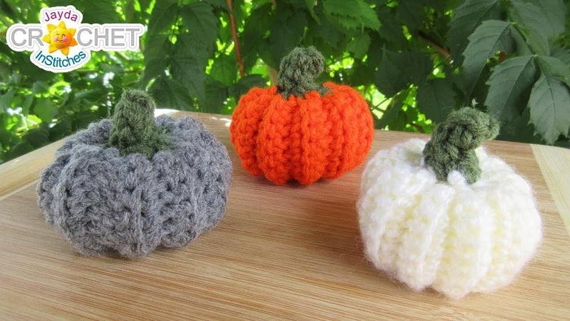 Mini Pumpkin Tutorial - Crochet Quick Fix Refresher