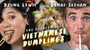We Try To Make Vietnamese Dumplings (Banh Bot Loc) with Donal Skehan | Two Foodies Cook