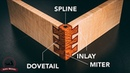 SPLINED and Inlaid, Mitered Dovetail Corner - Joint of the Week Redemption