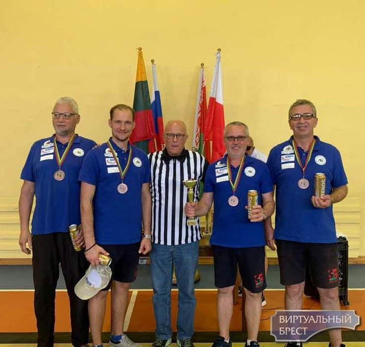 Брестские «Строители»  выиграли турнир по айсштоку в Литве