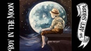 The Boy in the Moon Easy Acrylic painting step by step