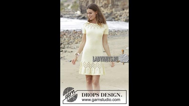 Часть 1 Летнее платье спицами