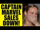 CAPTAIN MARVEL Blu-Ray Sales DOWN 50 - Brie Larson MCU Movie is NOT Doing Great for Disney