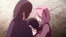 Uchiha Family Sasuke Sakura as Husband and Wife as Saradas Parents