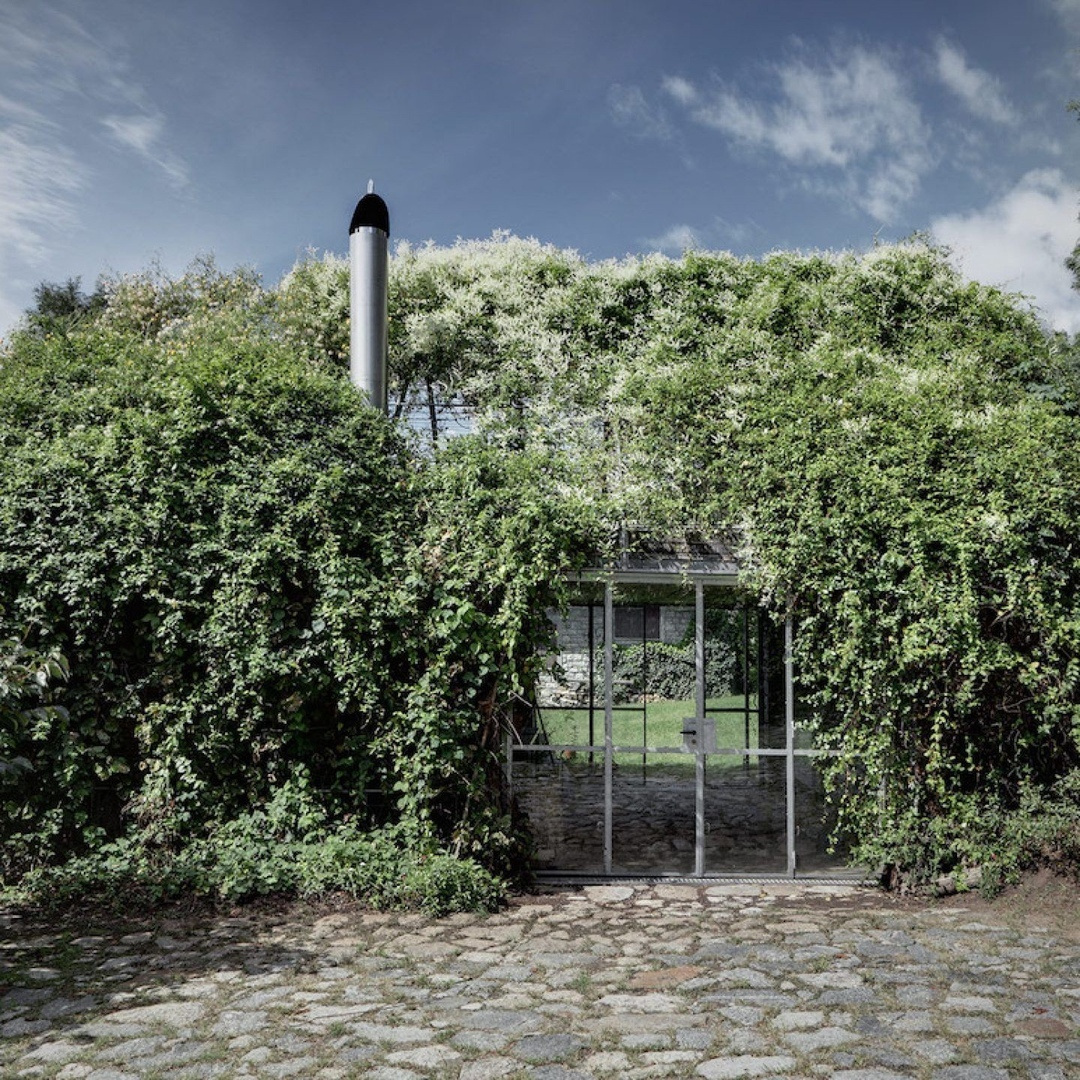 An Alpine Greenhouse Getaway