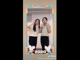 [SNS] 200123 Heejin, Olivia Hye – Happy Lunar New Year 2020  TikTok