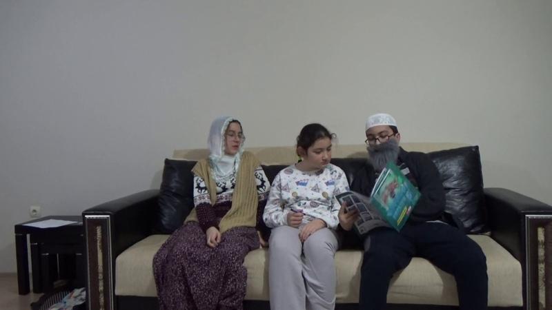 Dede ve babaanneyle ödev yapılır mı (Evde denemeye kalkışmayın!!) Komik Dede Nine Skeci