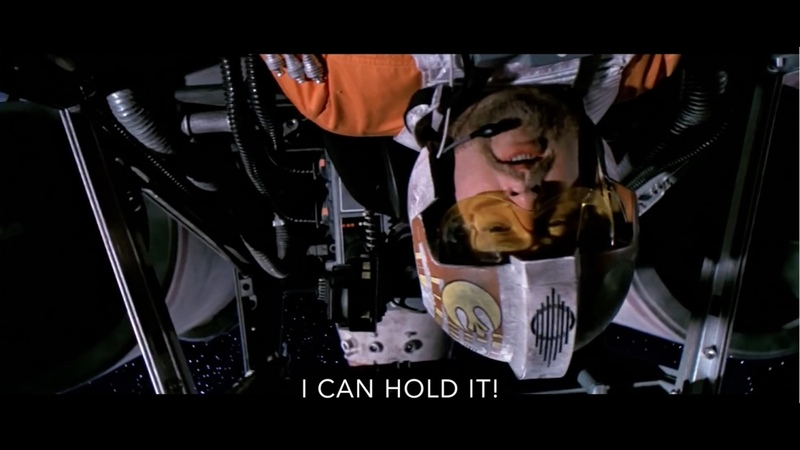 Jek Porkins saves the Day! Star Wars recut Porkins tribute