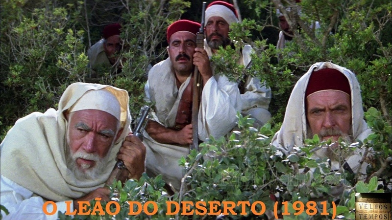 O Leão do Deserto (1981), Anthony Quinn, Oliver Reed e Irene Papas, Completo, Legendado