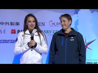 Alina zagitova gala grand prix final