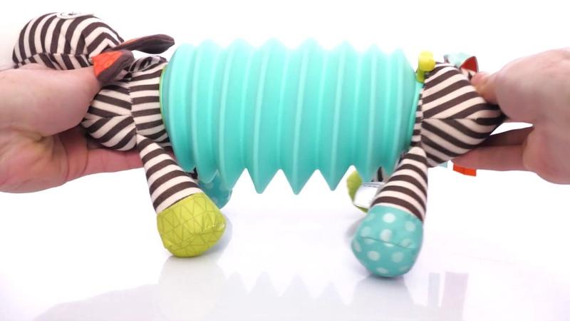Развивающая игрушка Зебра-тянубра, 2 музыкальных режима от Battat