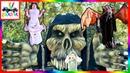 Best Crazy HALLOWEEN Decorations Display! Monsters, Vampires, Skeletons, Clowns Halloween Night Live