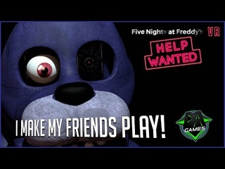 FNAF VR HELP WANTED WITH FRIENDS DAGames