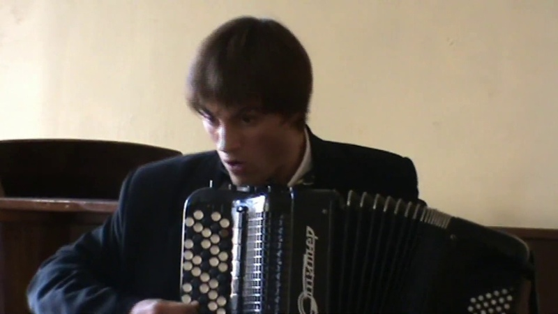 Zubitsky Partita 1 ACCORDION p 4 5 Зубицкий Партита 1 V Gusak В Гусак Баян Accordion
