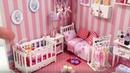 Baby's DIY Miniature Dollhouse Room