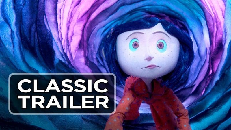 Coraline (2009) Official Trailer - Dakota Fanning, Teri Hatcher Movie HD