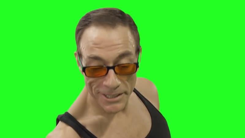 Green Screen Van Damme Bon