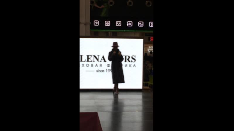 Показ бренда Меховая фабрика ELENA FURS Мега Парнас 10 11 19