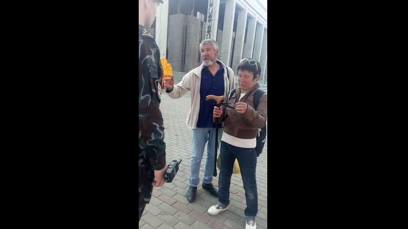 Пьяные дармоеды Сирожа Концевенко и его подружка Леночка едут в ОПОП