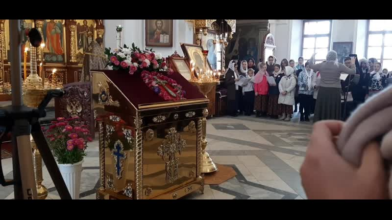 Фрагменты детской литургии . Кунгур. 29.09.19