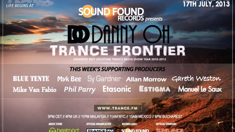 Trance Frontier Episode 212 17th July, 2013