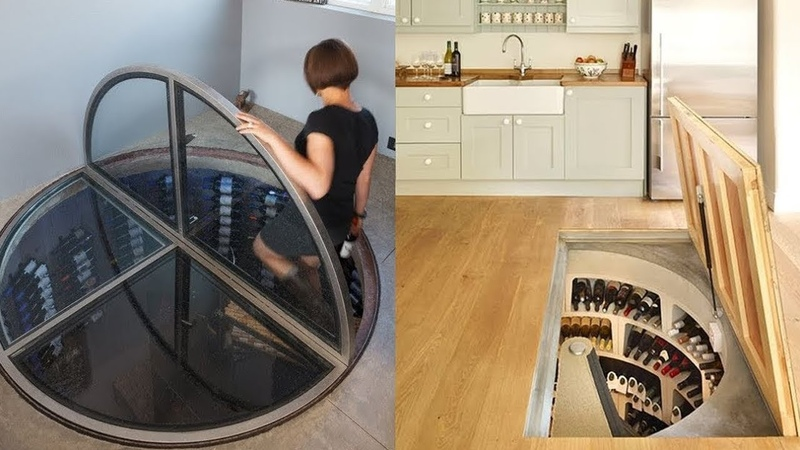 AMAZING AND INGENIOUS Hidden Rooms and SECRET Furniture ➤ 1