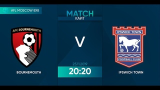 AFL19. England. Championship. Day 21. Bournemouth - Ipswich Town