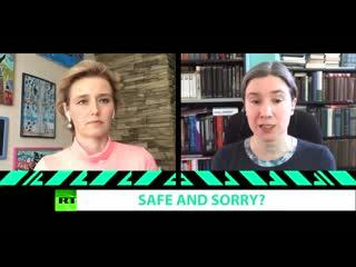 SAFE  SORRY_ Ekaterina Schulmann in Worlds Apart, with Oksana Boyko