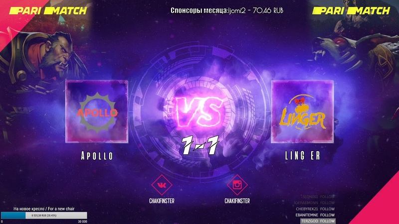 RU ENG Apollo vs LING ER 1 1 BO3 Game 3 Yabo Supreme Cup Online Qualifier by @chakifinste